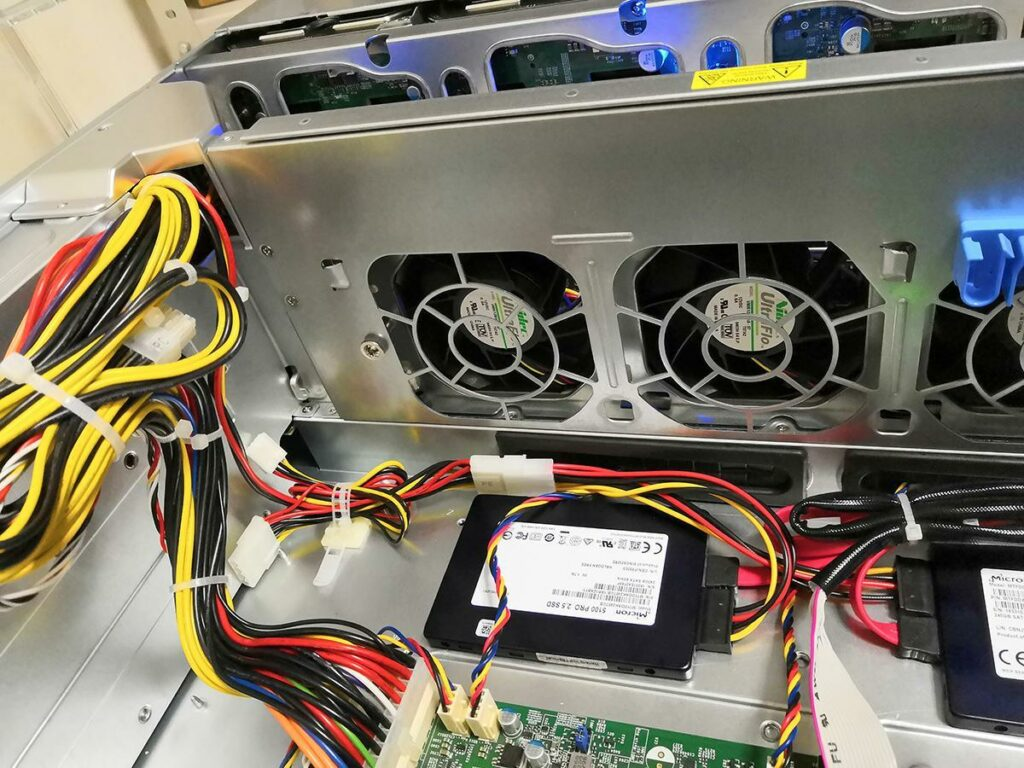 SSD Micron 5100 Pro для сервера 1С
