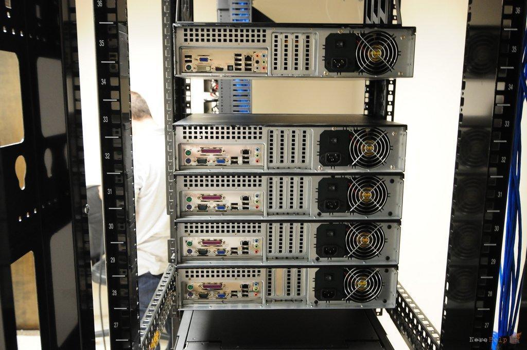 Серверы в офисе