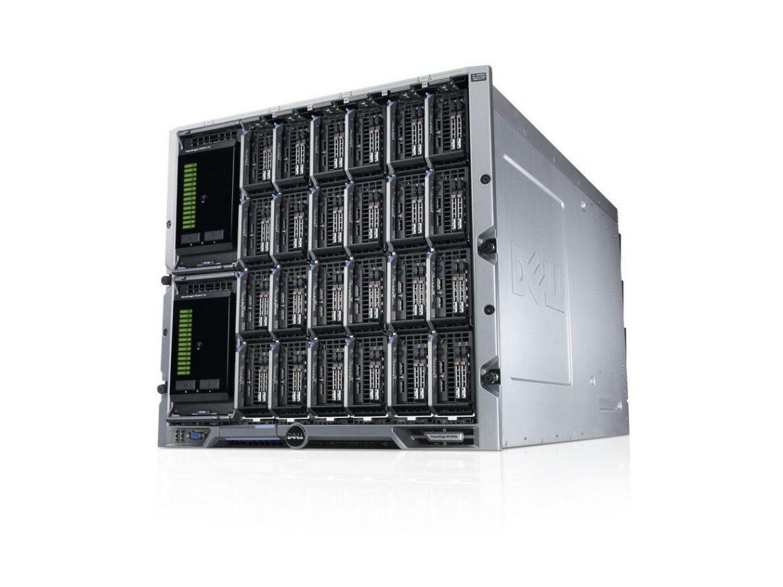Что такое блэйд-сервер
