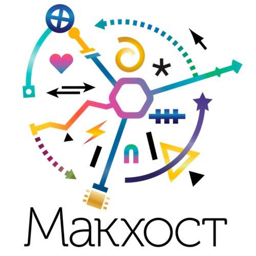 Макхост логотип