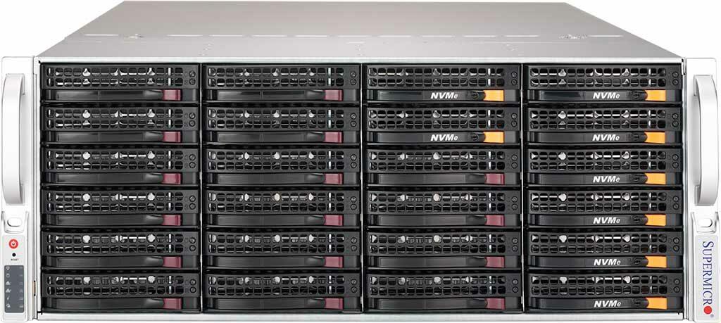Файл-сервер с NVMe