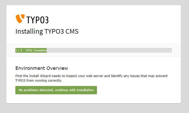 Установка Typo3