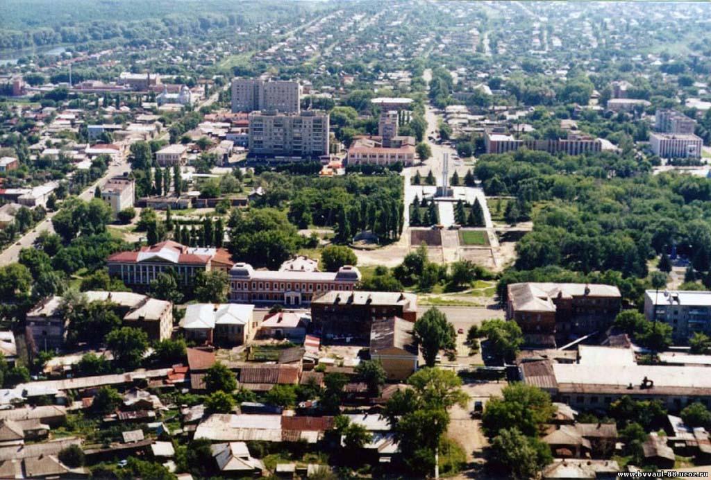 Город Балашов (панорама)