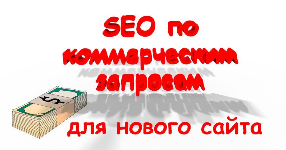 Коммерческое SEO для нового сайта